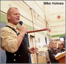 Holmes speaking