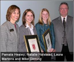 Pamala Healey, Natalie Halstead, Laura Martens & Mike Dinning