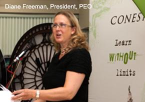 Diane Freeman, President, PEO