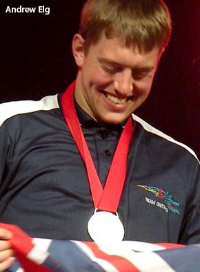 Andrew Elg, Silver medalist