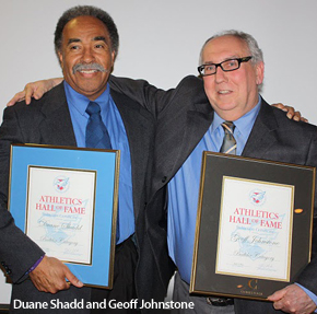Duane Shadd and Geoff Johnstone