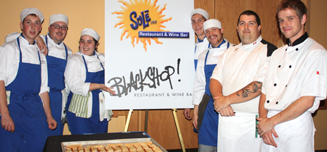 Students in Iron Chef Competition