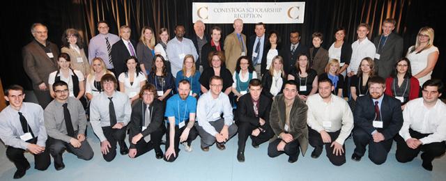 Conestoga Scholarship Reception