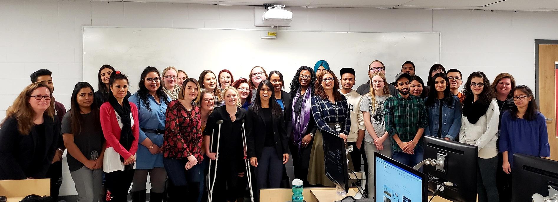 Conestoga College - MP Chagger visit - 2019.jpg