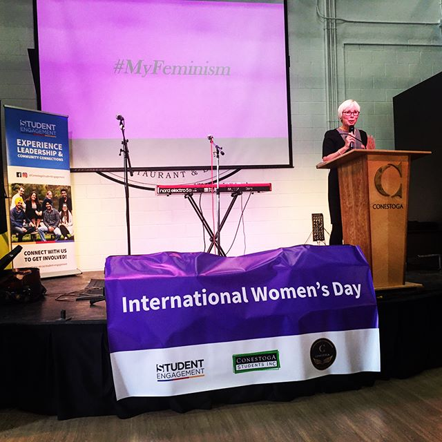 Conestoga College International Women's Day 2018.jpg