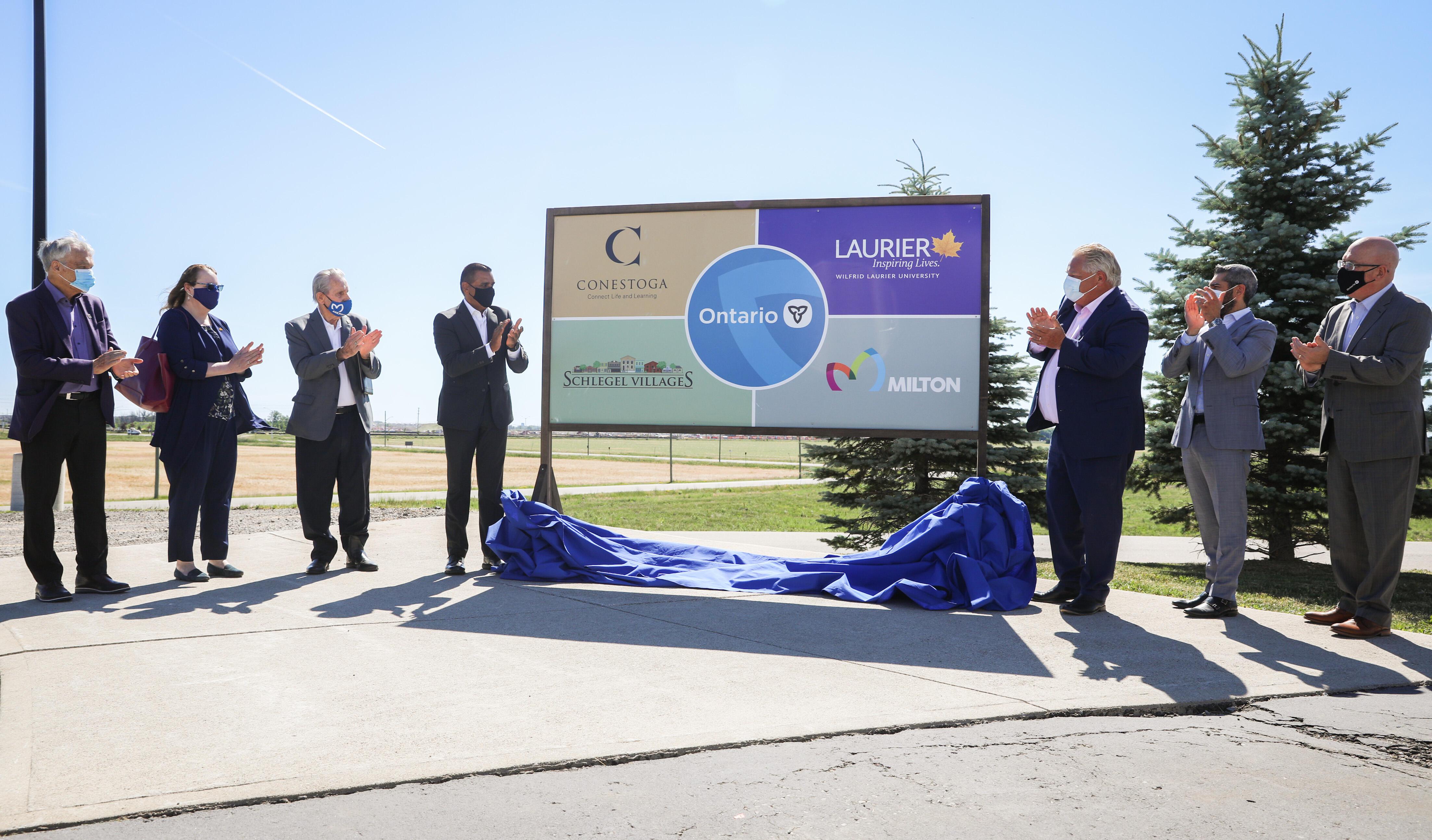 Conestoga College_Milton campus announcement.JPG