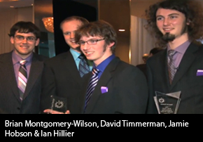 Conestoga Engineers Bring Home Top Honours from National Competition