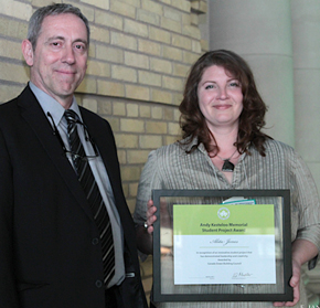 Conestoga Students Take Top Prize for Sustainable Design